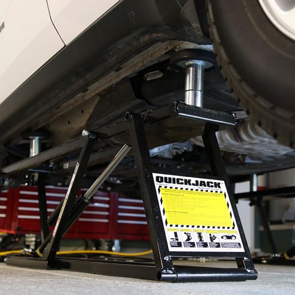 QuickJack BL-5000SLX Mobile Car Lift - Low-Profile Auto Lift