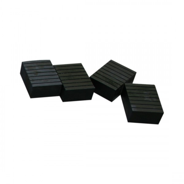 Short Rubber Blocks - Set of 4