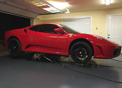 Ferrari F430 QuickJack Portable Car Lift