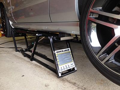 QuickJack BMW Home Garage Lift