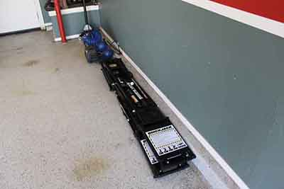 Portable Car Lift for Garage Stowed Store