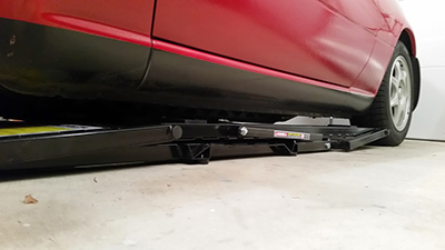 QuickJack Portable Car Lift Low Profile