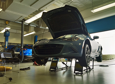 QuickJack Car Lift Mazda Speed Garage