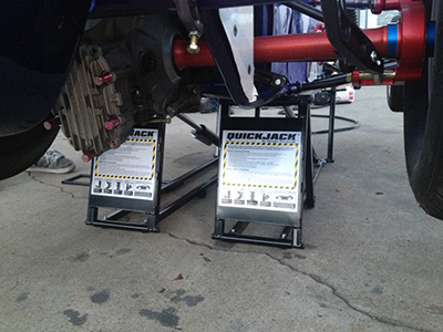 QuickJack Low Profile Car Lift Sprint Car