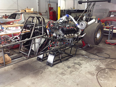 QuickJack Racecar Lift Track Dragster