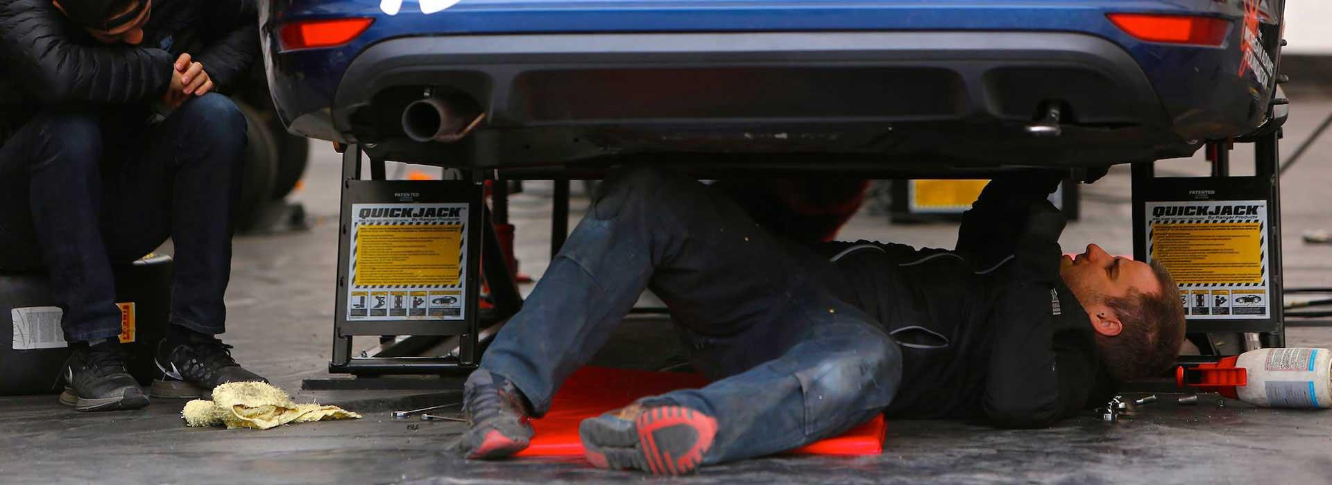 QuickJack Race Track Car Lift